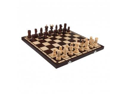 Drevený šach stredný 42 x 42 cm