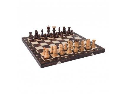 Drevený šach veľký 60 x 60 cm II