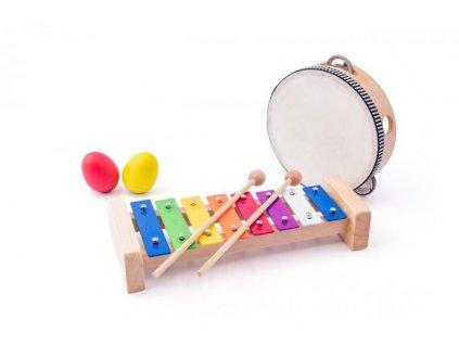 Drevená muzikálna súprava