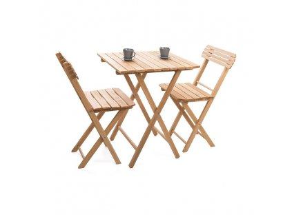 Stôl so stoličkami - záhradná súprava
