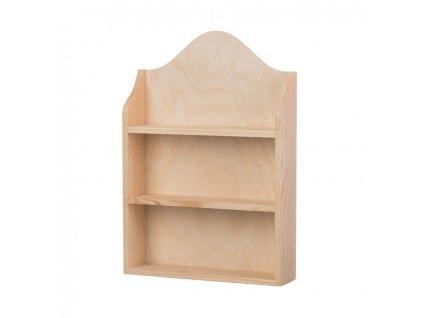Dřevěná polička na kořenky II