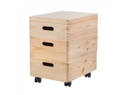 Zostava drevených boxov 40X30X14 CM