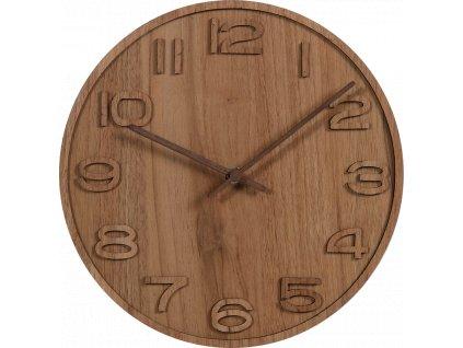 Nástenné hodiny drevené VI
