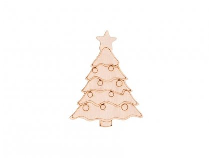 Drevený vianočný stromček 10 x 7,5 cm