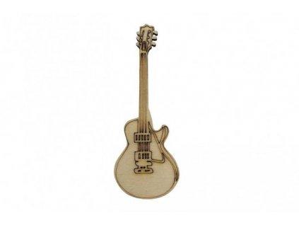 Drevená gitara 8 x 3 cm