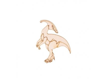Drevený dinosaurus I 9 x 8,5 cm