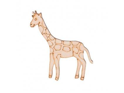Drevená žirafa 10 x 8,5 cm