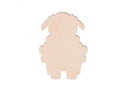 Drevená ovečka 9 x 6 cm