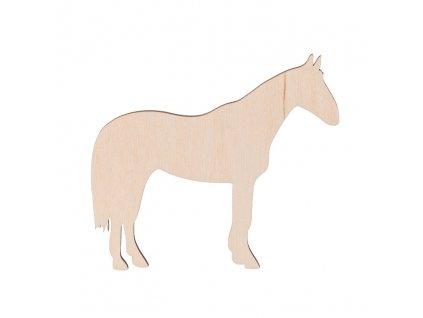 Drevený kôň 10 x 9 cm