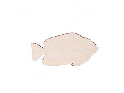 Drevená ryba 7 x 3.5 cm
