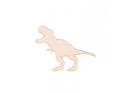 Drevený dinosaurus X 10.5 x 9 cm