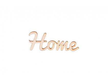 Dřevěný nápis - Home