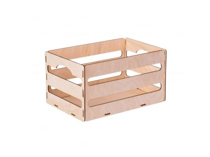 Drevený box z preglejky II 31x20x16.5 cm