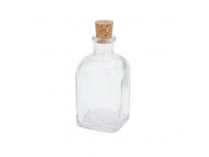Sklenená fľaša s korkom 100 ml