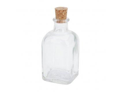 Sklenená fľaša s korkom 250 ml