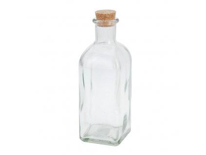 Sklenená fľaša s korkom 500 ml