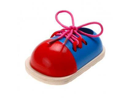 Didaktická šnúrovacia topánočka