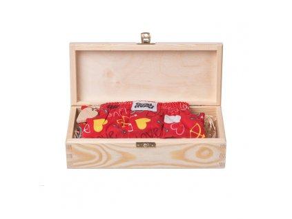 Dárková dřevěná krabička I