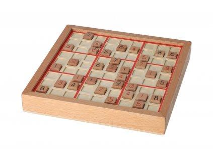 Drevené Sudoku