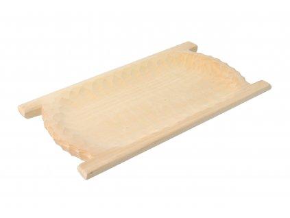 Drevené dlabané koryto 45 cm