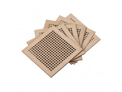 Bukové drevené podtácky (6ks)