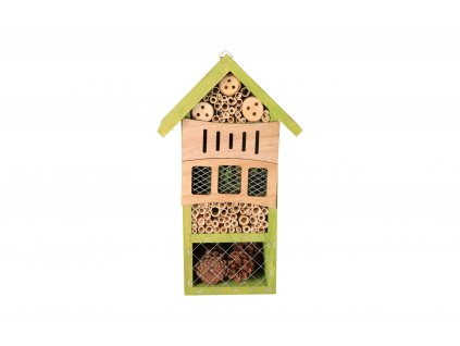 Domček pre hmyz - zelený