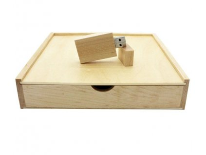Krabička na fotografie a USB - svetlá