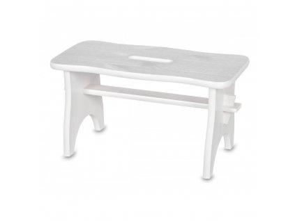 Drevená stolička - biela