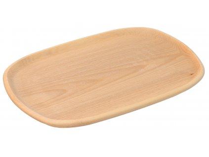 Štýlový drevený podnos