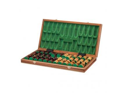 Veľké drevené šachy -  58x58 cm