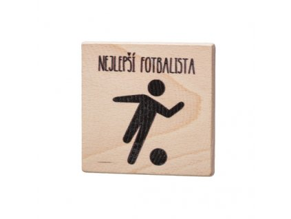 Drevený podtácok - Nejlepší fotbalista