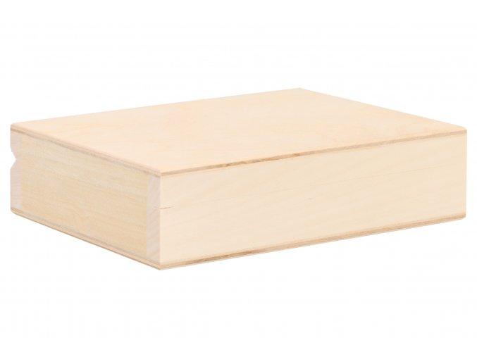 Drevená krabička na karty