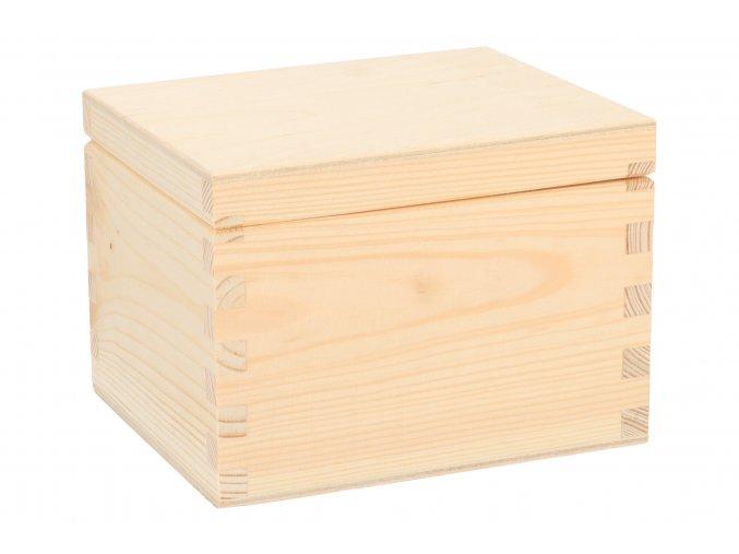 Drevená krabička IV