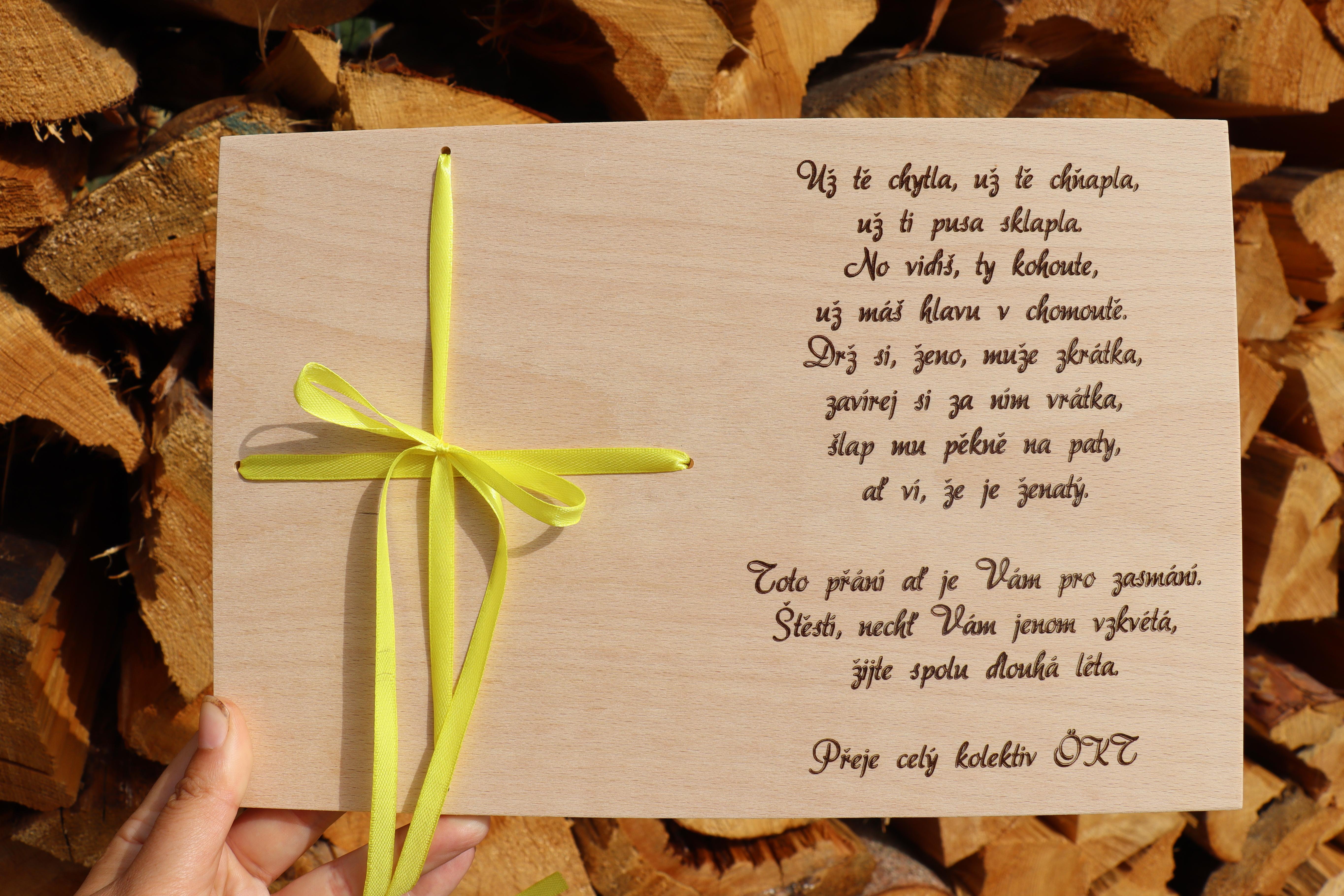 přání ke svatbě pro novomanžele