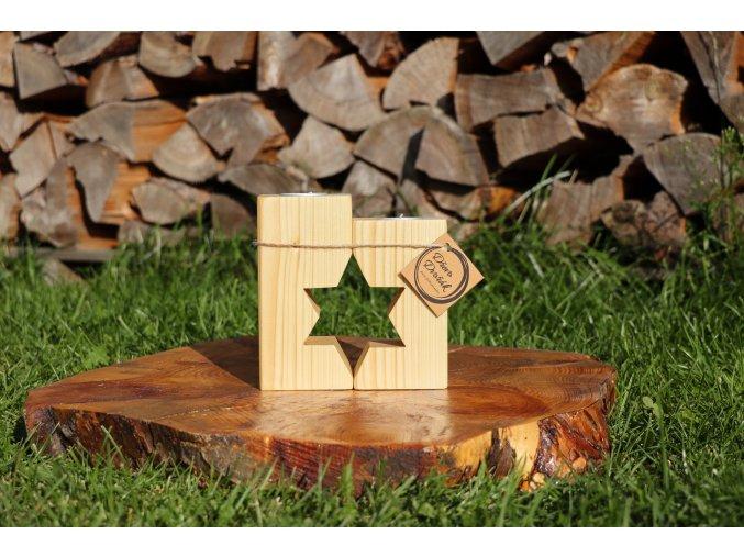 Svícen hvězda / stromeček