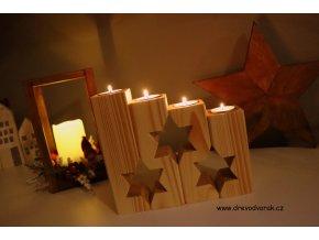 Adventní svícny - různé druhy