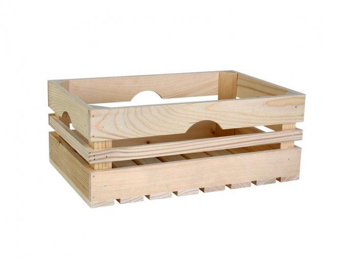 Dřevěná bedýnka 40cm