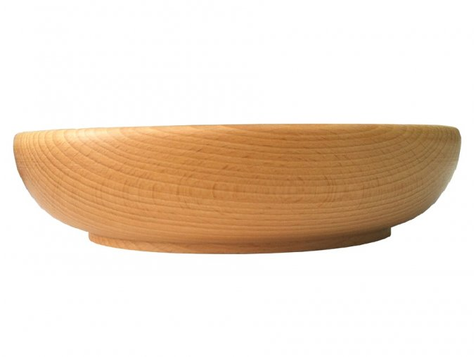 drevená miska z buku