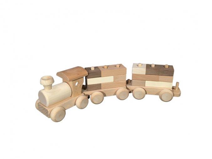 Dřevěný vláček DADO