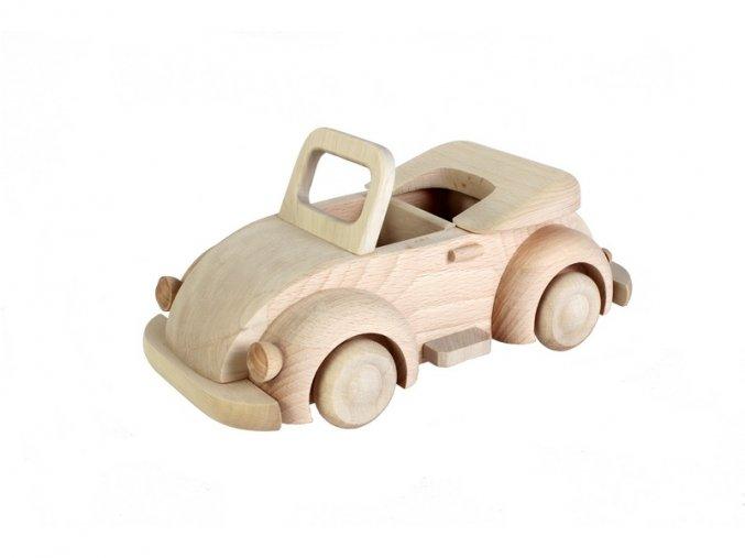 dřevěné auto brouk