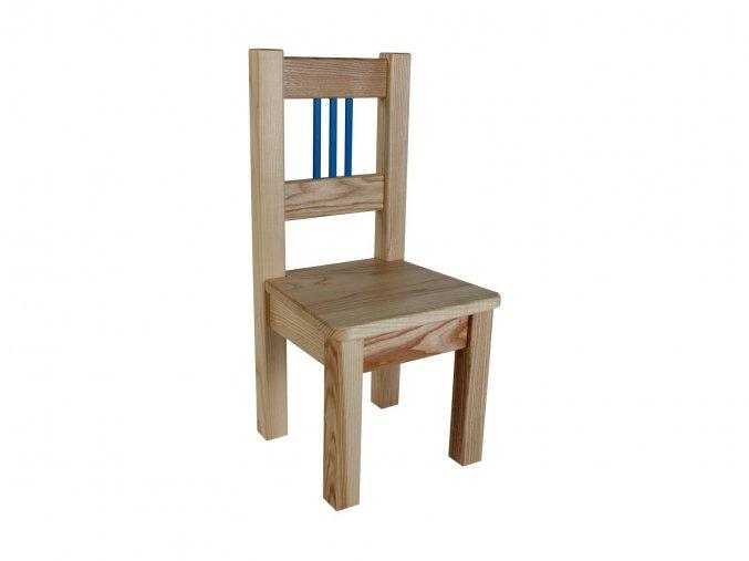 Dětská židlička BORNE blue