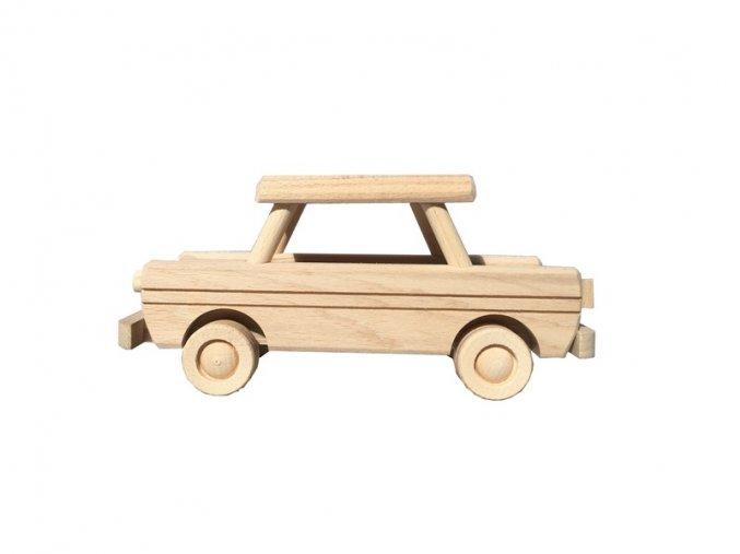 Dřevěný trabant CZECH
