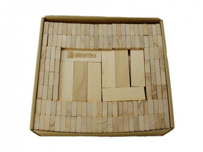 obdelníčky ze dřeva