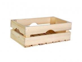 Dřevěná bedýnka 34cm