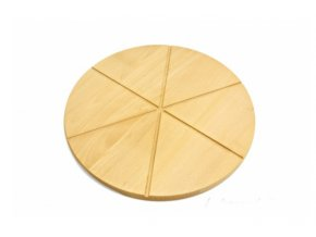 30 cm 6 dílku pizza prkénko