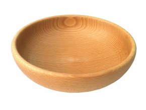 velká dřevěná miska