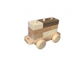 Dřevěný vagónek k vláčku DADO