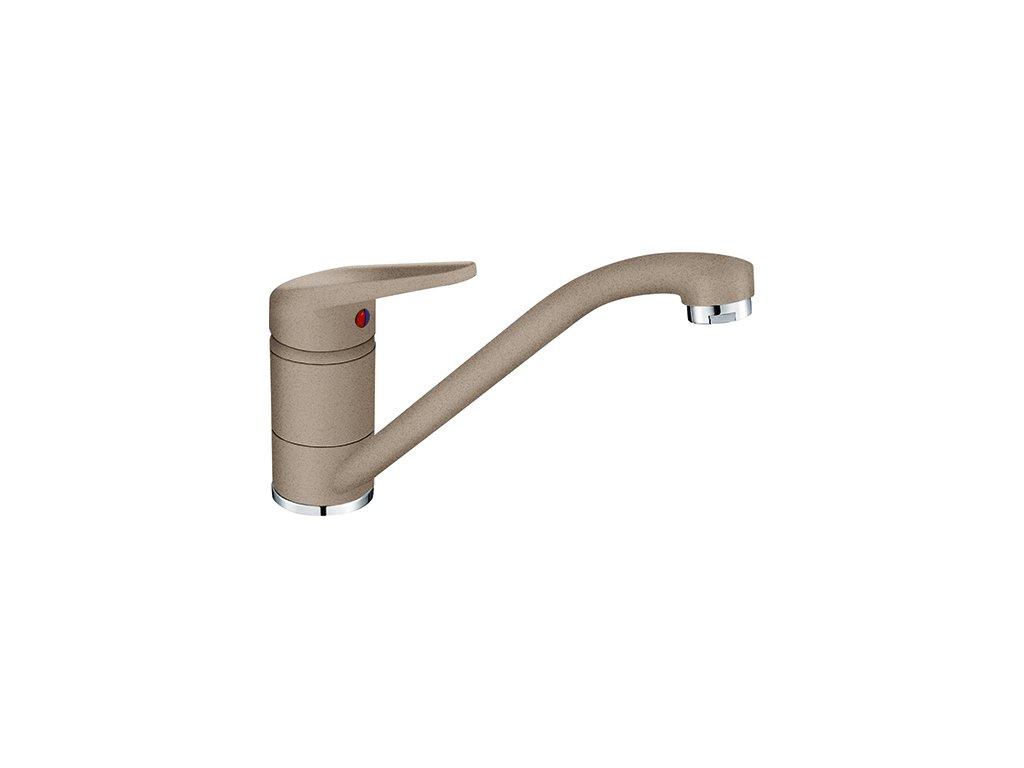 Franke FC 9541 dřezová baterie bez sprchy, fragranit kašmír, 115.0470.655