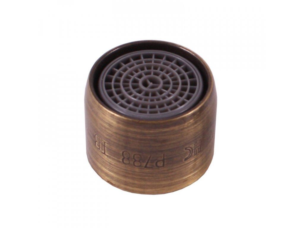 Slezák Rav perlátor M22x1 vnitřní závit stará mosaz MA0002SM