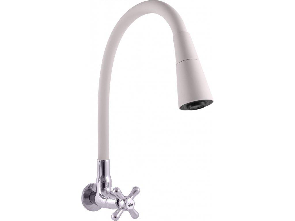Slezák Rav nástěnný ventil na jednu vodu s flexibilním ramínkem MK192/13S